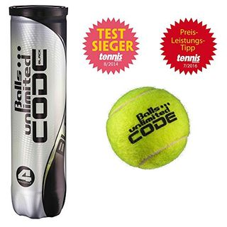 Balls unlimited Code Black Tennisbälle