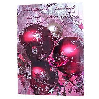 Geschenkbox Schmuck Adventskalender mit Modeschmuck für Frauen und Mädchen