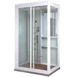 Home Deluxe Duschtempel White Luxory XL