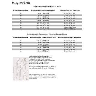 Bongossi-Trade Dirndl BT4100D