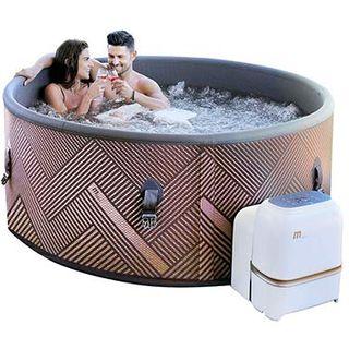 Trade-Line-Partner Premium Whirlpool Outdoor Mono Spa 173x173cm aufblasbar