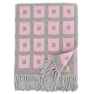 Linen & Cotton Luxus Merino Wolldecke Rome