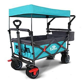 TMZ Faltbar Bollerwagen mit Dach