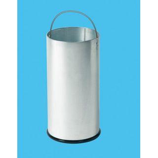 Hailo KickMaxx XL Mülleimer aus Stahlblech