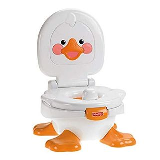 Fisher-Price T6211 Ducky Töpfchen und Fußbank Toilettentrainer