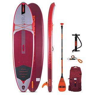 Jobe Yarra 10.6 Aufblasbares SUP Board Paket Rot