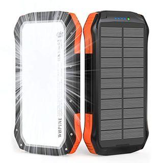 WBPINE Solar Powerbank 20100mAh