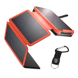 IEsafy Solar Powerbank 26800mAh Solar Ladegerät Outdoor