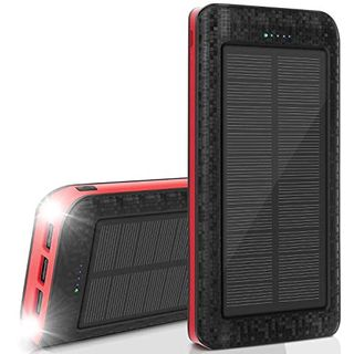 AMAES Solar Powerbank 25000mAh
