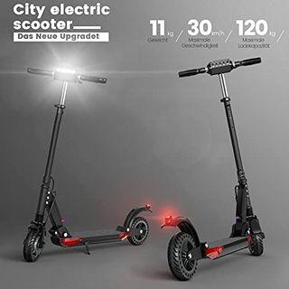 HUABANCHE Elektroscooter Erwachsene E Roller 30km elektroroller