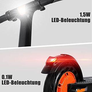 HUABANCHE Elektroroller Erwachsene 25 km Lange Reichweite Elektro Scooter