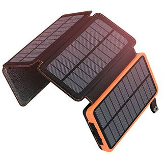 A ADDTOP Solar Powerbank 25000mAh Tragbare Solar Ladegerät