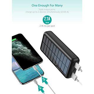 xiyihoo Powerbank Solar 30000mAh