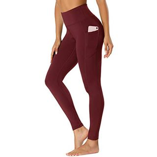 Beelu Damen Leggings Lange Yoga Pants Blickdicht Hohe Taille