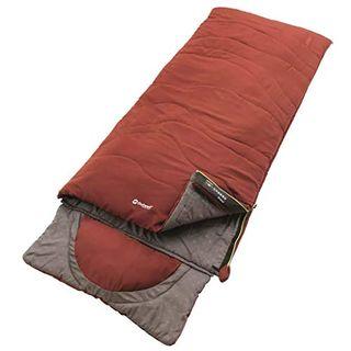 Outwell Contour Schlafsack Ochre Red 225 x 90 cm