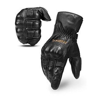 INBIKE Motorrad Handschuhe Damen Herren Winter Motorradhandschuhe