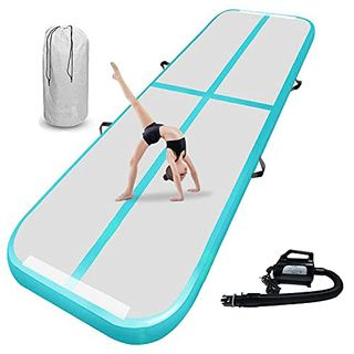 airtrack matte 20cm hoch 3M Aufblasbare turnmatte AirTrack Gymnastik Yogamatte Taekwondo Camping