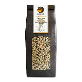 Rohebohnen Rohkaffee Grüner Hochland Kaffee Brasil Lagoa