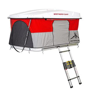 BrothersCamp 3 Personen Dachzelt Autodachzelt Easy360 150x230cm Campingzelt
