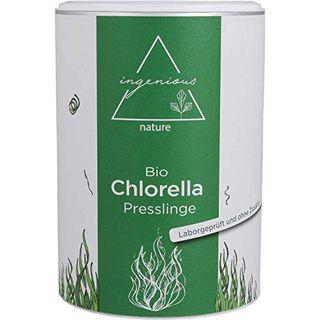ingenious nature Laborgeprüfte Bio Chlorella Presslinge