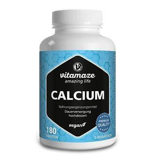 Calcium Tabletten hochdosiert vegan