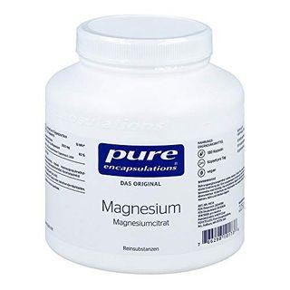 pure encapsulations Magnesium Magnesiumcitrat Kapseln