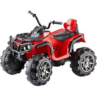 Jamara 460249 Ride-on Quad Protector rot 12V