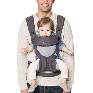 Ergobaby Babytrage 360 Cool Air Mesh Carbon Grey