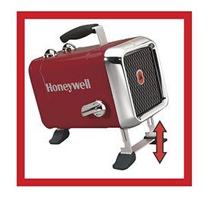 Honeywell HZ-510E Keramik-Heizlüfter in rot