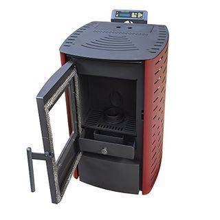 Nemaxx P6 Pelletofen 6 kW (rot)