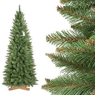 FairyTrees künstlicher Weihnachtsbaum Slim