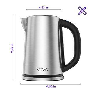 VAVA Wasserkocher Edelstahl 1,7 L