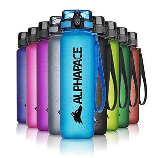 ALPHAPACE Blau 650ml Trinkflasche