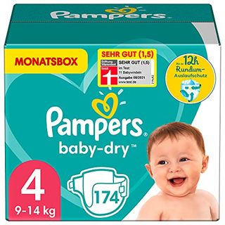 Pampers Baby-Dry Windeln Gr. 4