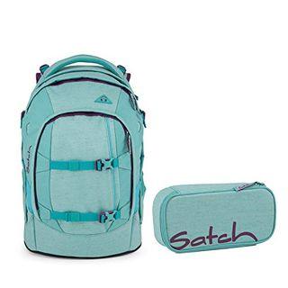 Satch Pack Lagoon Dive Schulrucksack Set 2tlg