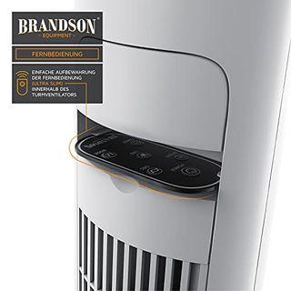 Brandson Turmventilator mit Fernbedienung 108 cm