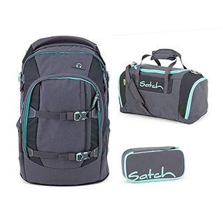Satch Pack Mint Phantom 3er Set Schulrucksack
