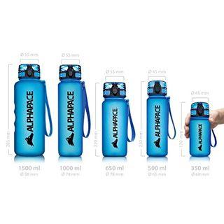 ALPHAPACE Blau 1L Trinkflasche