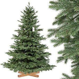 FairyTrees künstlicher Weihnachtsbaum Alpentanne Premium