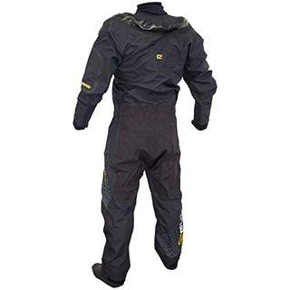 GUL Code Zero Stretch U-Zip Drysuit Dry in Schwarz