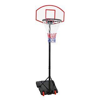 Display4top Einstellbare Portable tragbar Basketballkorb und Ständer