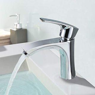 Homelody Wasserhahn Waschbecken Armatur Bad Mischbatterie Waschtischarmatur