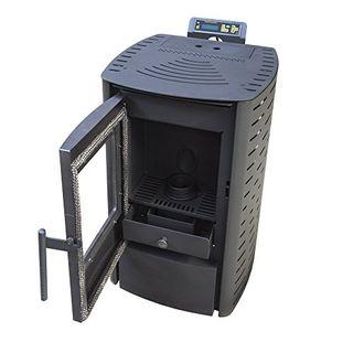 Nemaxx P6 Pelletofen 6 kW (schwarz)
