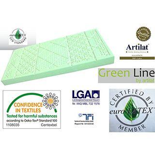 Green Line Latexmatratze ERGOFLEXA 90 x 200 cm