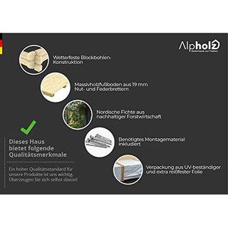 Alpholz Gent Gerätehaus Holz
