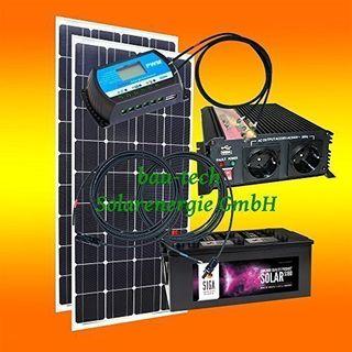 bau-tech Solarenergie 200 Watt Inselanlage