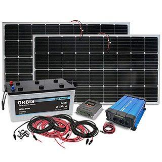 Insel Solaranlage PV-Anlage 1500W AC