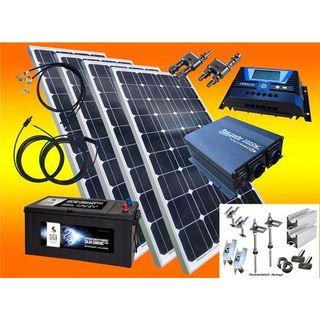 520 Watt Insel Solaranlage