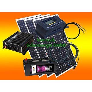 300 Watt Insel Solaranlage