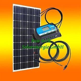 bau-tech Solarenergie 130Watt 12Volt Inselanlage